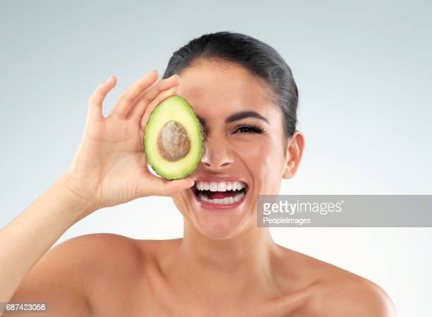 Avo does the skin good