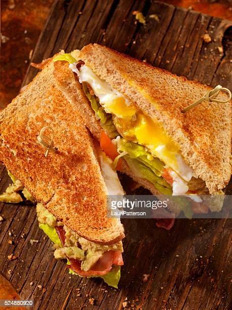 Avocado and Egg, BLT Sandwich