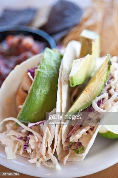 Avocado and Fish Taco