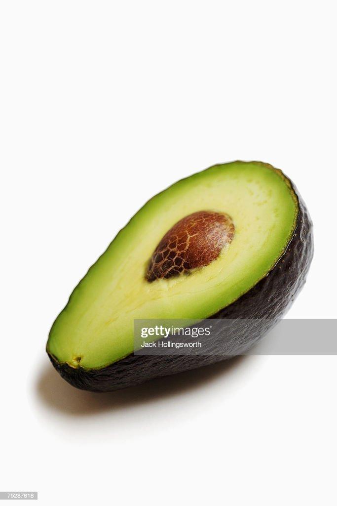 Avocado, close-up : Stock Photo