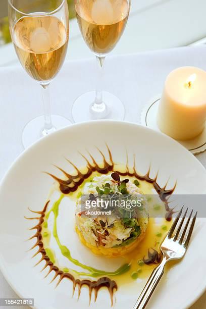 Avocado Crab and Mango Appetizer