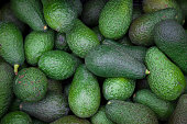 avocado, raw, green