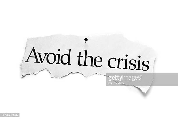 Avoid the crisis newspaper