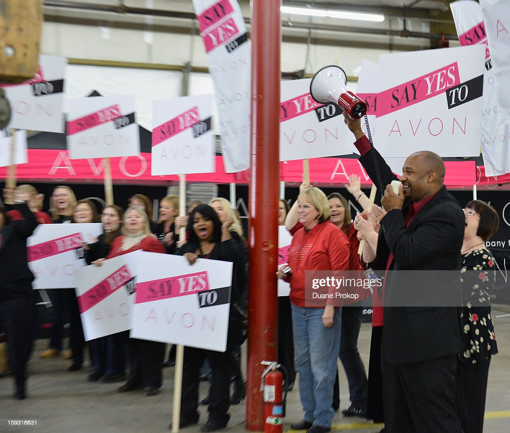 Avon Kicks off the SAY YES TO AVON BEAUTY on January 11, 2013 in Columbus, Ohio.