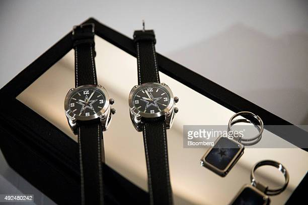 Avon Products Inc Fashion and Home Collection watches are displayed during the company's 2015 Holiday Meeting in New York US on Tuesday Oct 13 2015...