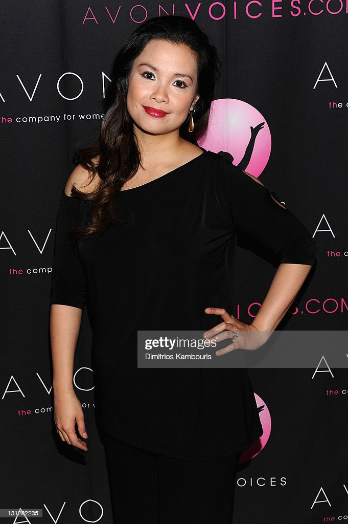 Avon Voices Judge, Filipina singer and actress Lea Salonga attends the Avon Voices singing talent search Finale at Hard Rock Cafe, Times Square on November 1, 2011 in New York City.