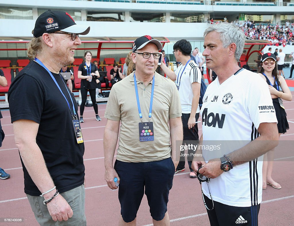 Manchester United Open Training and Press Confernece