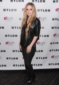 Avril Lavigne attends as NYLON And Aloft Hotels Celebrate The June/July Music Issue With Avril Lavigne at the Highline Ballroom on June 11 2013 in...