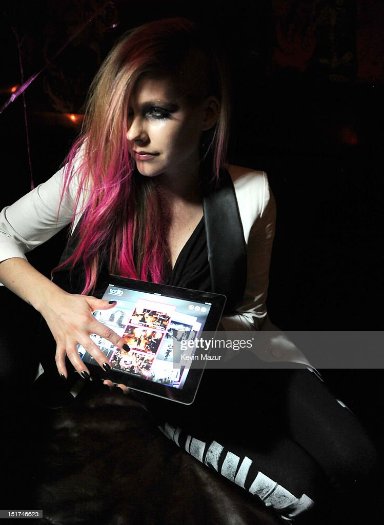 Avril Lavigne attends the Abbey Dawn by Avril Lavigne after party presented by Vodio at Catch Roof on September 10, 2012 in New York City.