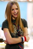 Avril Lavigne during TRL at the MTV Studios in New York City 8/22/02 Photo by Scott Gries/Getty Images