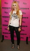 Avril Lavigne Launches 'Abbey Dawn' at Kohl's on July 17 2008 in Alhambra California *EXCLUSIVE*