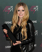 Avril Lavigne poses in the press room at the 2013 MuchMusic Video Awards at Bell Media Headquarters on June 16 2013 in Toronto Canada