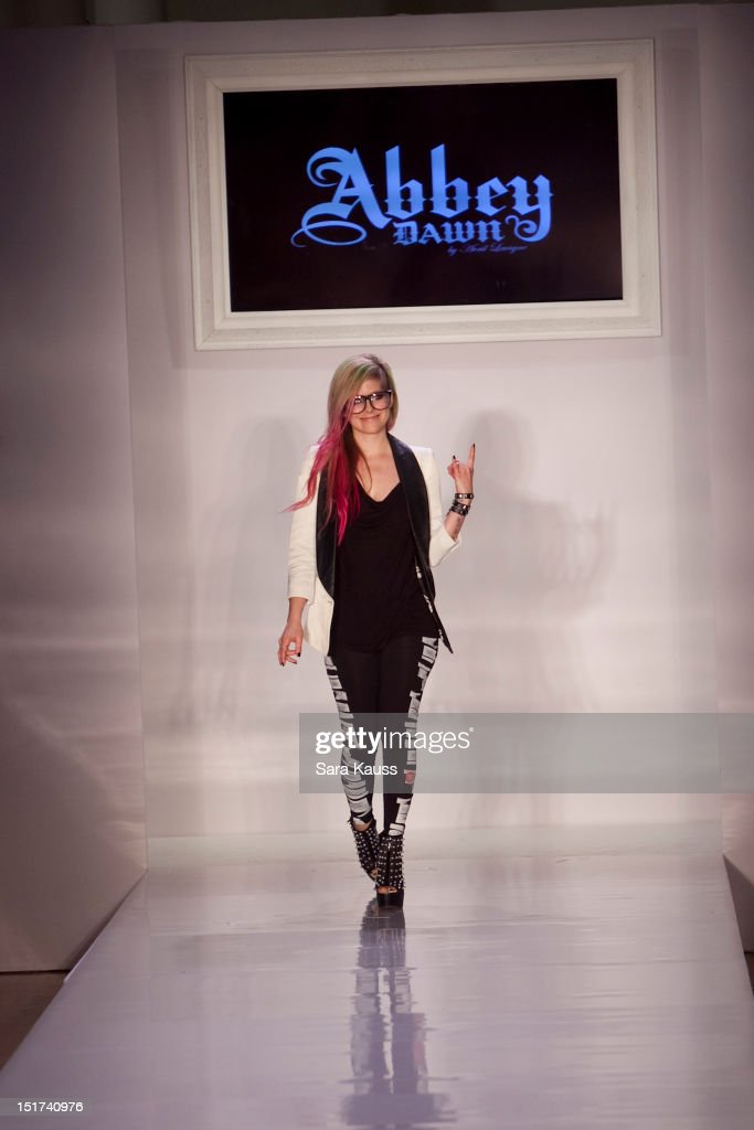 Abbey Dawn By Avril Lavigne Runway Spring 2013 Mercedes Benz Fashion Week Getty Images
