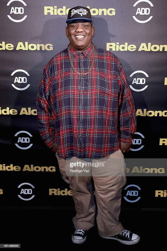 Avyor Teddy Ray attends the ADD Comedy Live! Special Screening of 'Ride Along' on January 8, 2014 in Los Angeles, California.