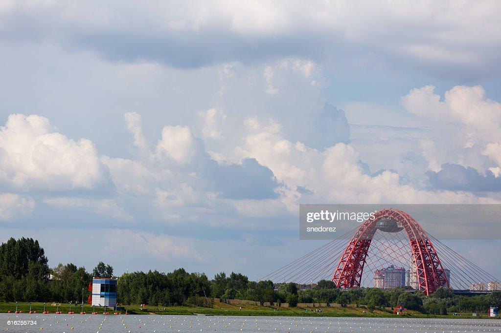 Awami League Fishing Tournament. Moscow, Russia. July 23, 2016 : Foto de stock