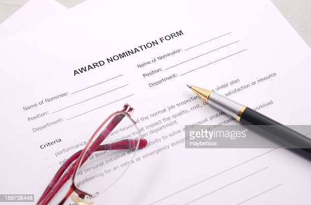 award nomination form