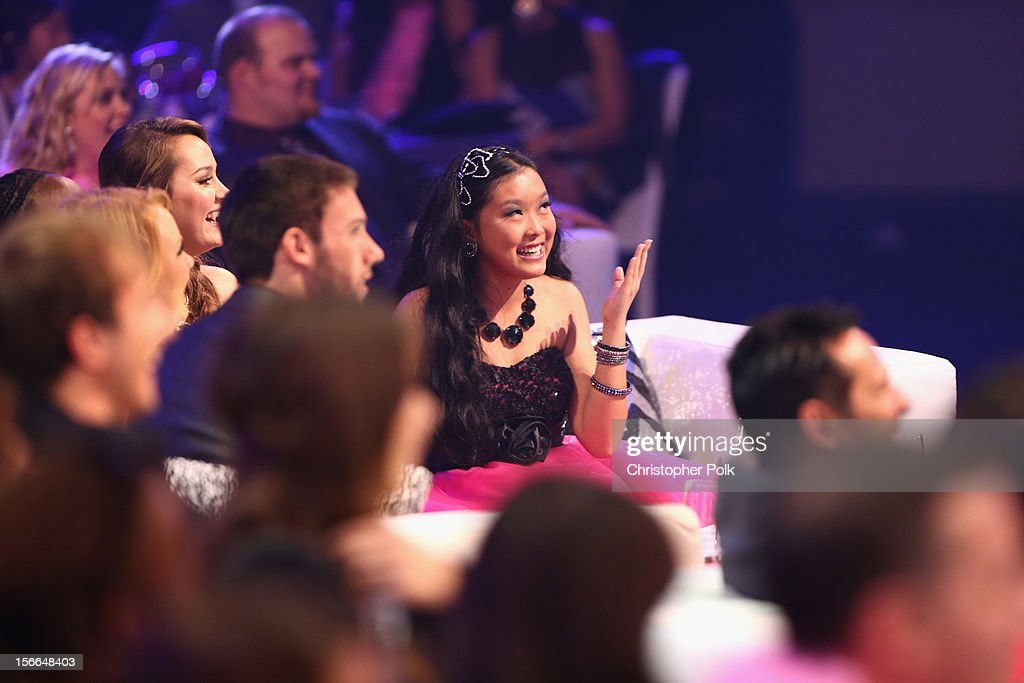 Award Nominee Kylie Lan Tumiatti attends Nickelodeon's 2012 TeenNick HALO Awards at Hollywood Palladium on November 17, 2012 in Hollywood, California. The show premieres on Monday, November 19th, 8:00p.m. (ET) on Nick at Nite.