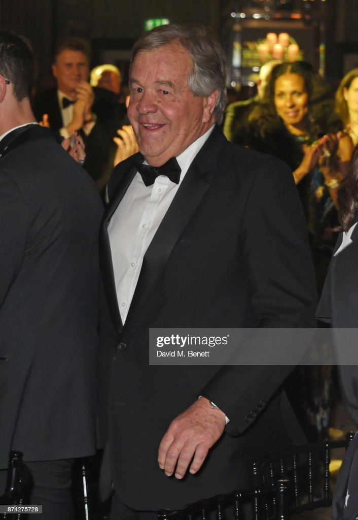 Award of Merit winner Sir Michael Stoute attends The Cartier Racing Awards 2017 at The Dorchester on November 14, 2017 in London, England.