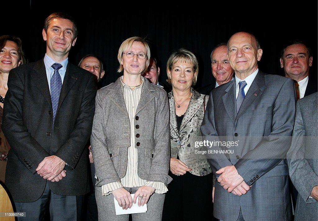 Award Of 'Quai Des Orfevres' At Pavillon Gabriel - On November 14Th, 2006 In Paris, France - Here, Frederique Molay