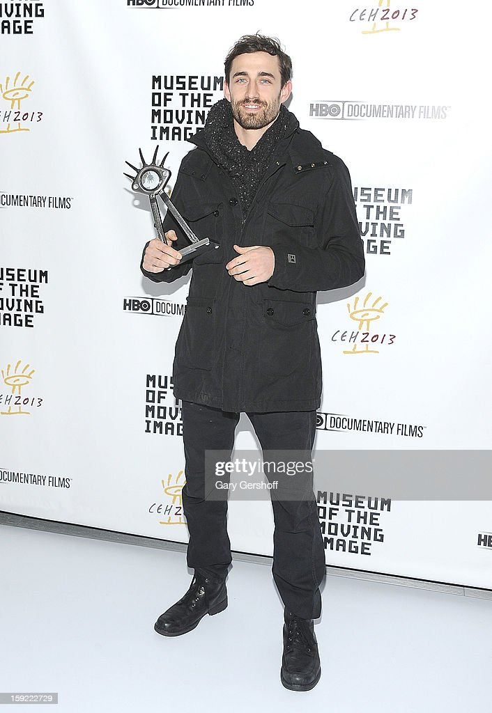 Award recipient Craig Atkinson attends the 6th annual Cinema Eye Honors For Nonfiction Filmmaking at Museum of the Moving Image on January 9, 2013 in the Queens borough of New York City.