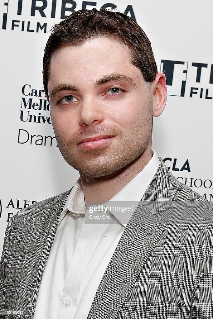 Award recipient/ filmmaker Barnett Brettler attends the Sloan Foundation Student Grand Jury Prize Award presentation on April 9, 2013 in New York City.