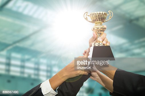 Award trophy : Stock Photo