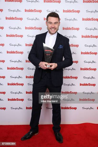 Award winner Danny Miller attends the Inside Soap Awards held at The Hippodrome on November 6 2017 in London England