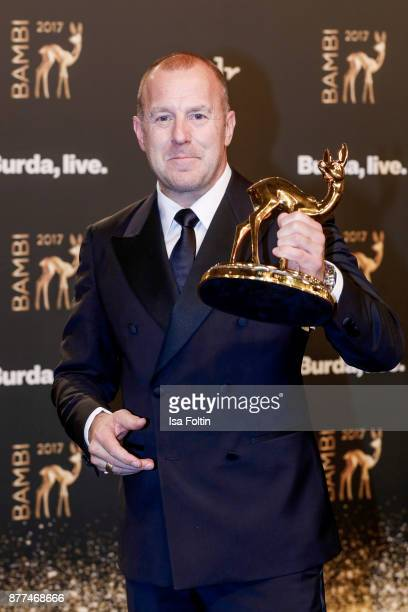 Award winner Heino Ferch at the Bambi Awards 2017 winners board at Stage Theater on November 16 2017 in Berlin Germany