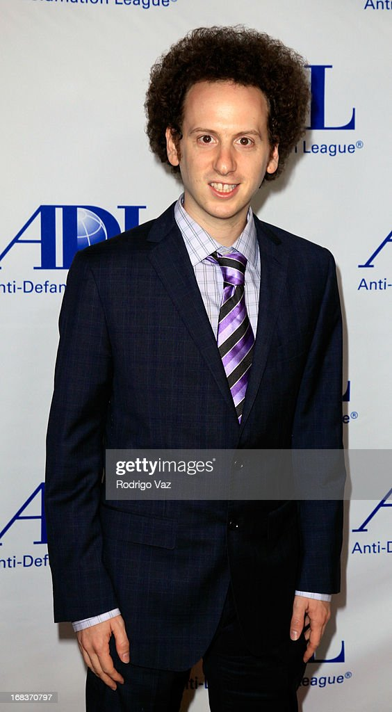 Award Winner Josh Sussman arrives at the Anti-Defamation League Centennial Entertainment Industry Awards Dinner at The Beverly Hilton Hotel on May 8, 2013 in Beverly Hills, California.