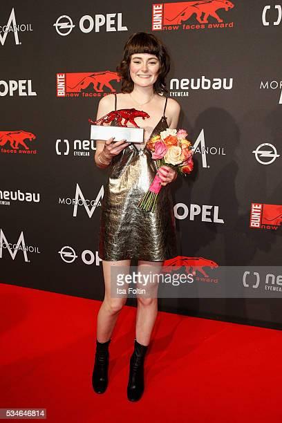 Award winner Lea van Acken attends the New Faces Award Film 2016 at ewerk on May 26 2016 in Berlin Germany