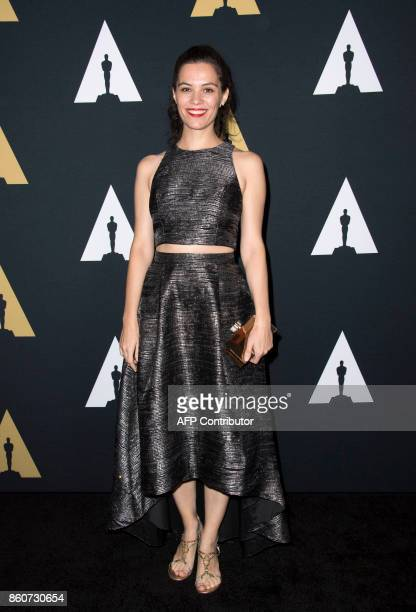 Award Winner Marie Dvorakova attends the 44th Students Academy Awards at the Academy of Motion Picture Arts and Sciences on October 12 in Beverly...