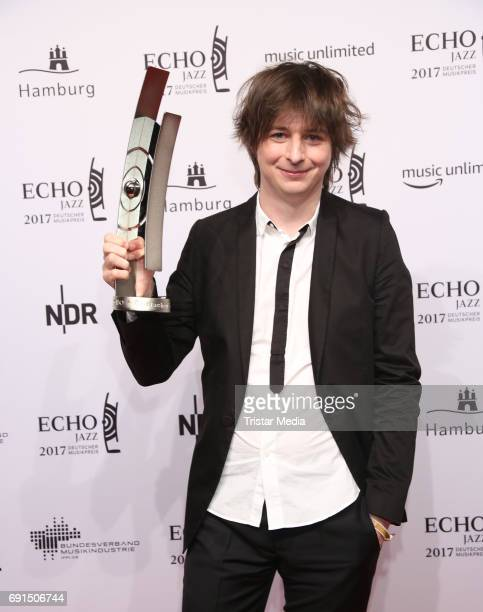 Award winner Michael Wollny during the Echo Jazz 2017 on June 1 2017 in Hamburg Germany