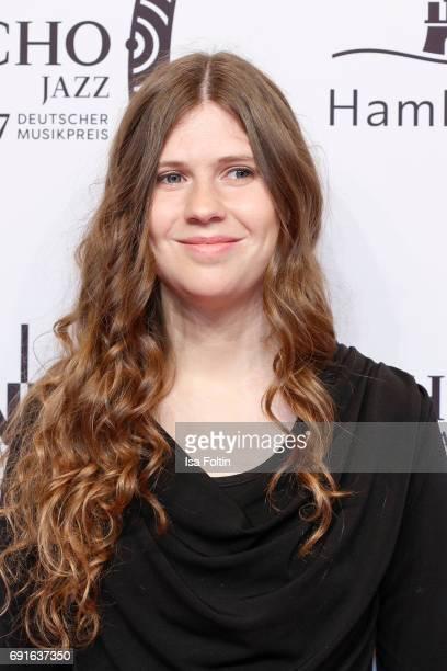 Award winner new comer AnnaLena Schnabel during the Echo Jazz 2017 on June 1 2017 in Hamburg Germany