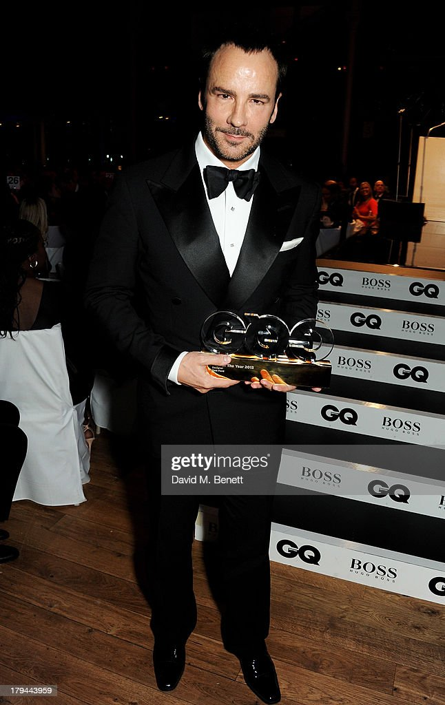 Award winner Tom Ford attends the GQ Men of the Year awards at The Royal Opera House on September 3, 2013 in London, England.