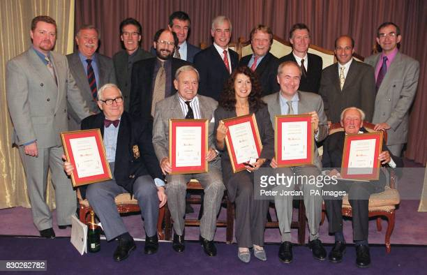 Award winners after receiving their Gold Badge of Merit from the British Academy of Composers and Songwriters at a ceremony in London Over the last...