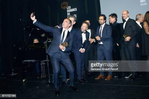Awarded as Animator of the year Nikos Aliagas Awarded as 'Male Singer' of the year Benjamin Biolay Stephane Bern Awarded as Digital Man of the year...