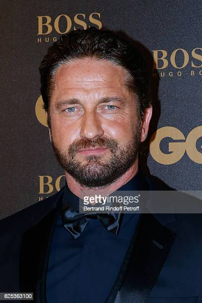 Awarded as International Star actor Gerard Butler attends the GQ Men of the Year Awards 2016 Photocall at Musee d'Orsay on November 23 2016 in Paris...