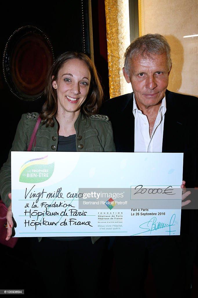 'Trophees Du Bien Etre' : 2nd Award Ceremony At Theatre de La Gaite Montparnasse In Paris