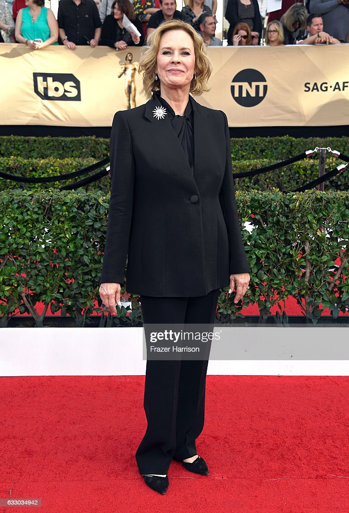 Awards Committee Chair & SAG-AFTRA Foundation Board President JoBeth Williams attends The 23rd Annual Screen Actors Guild Awards at The Shrine Auditorium on January 29, 2017 in Los Angeles, California. 26592_008