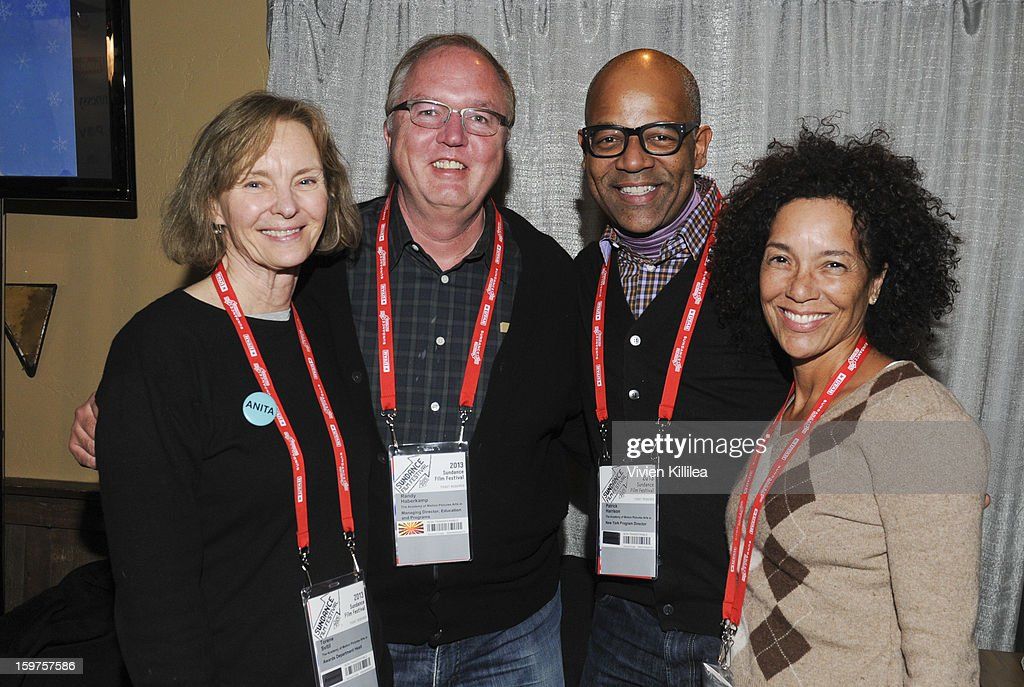 Awards Department Head for the Academy of Motion Picture Arts and Sciences Torene Svitil, Managing director, Education and Programs for the Academy of Motion Picture Arts and Sciences Randy Haberkamp, New York Events Director for the Academy of Motion Picture Arts and Sciences Patrick Harrison and director of the Los Angeles Film Festival Stephanie Allain attend the Academy Conversation With Will Packer At Sundance Film Festival - 2013 Park City on January 19, 2013 in Park City, Utah.