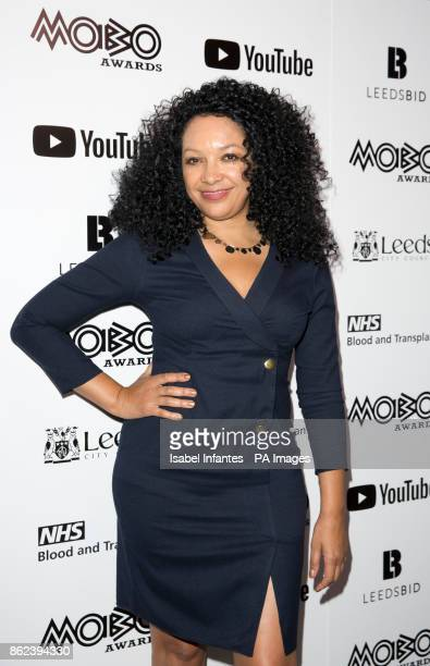 Awards founder Kanya King attending the Mobo Awards 2017 Nominations at the YouTube Space London