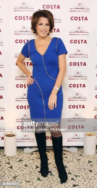 Awards judge Natasha Kaplinsky pictured at the Costa Book Awards held at Quaglino's in London