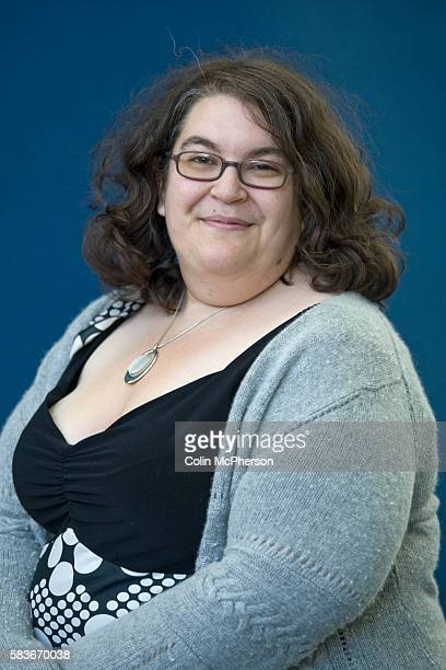 Awardwinning British author and games writer Naomi Alderman pictured at the Edinburgh International Book Festival where she talked about her latest...
