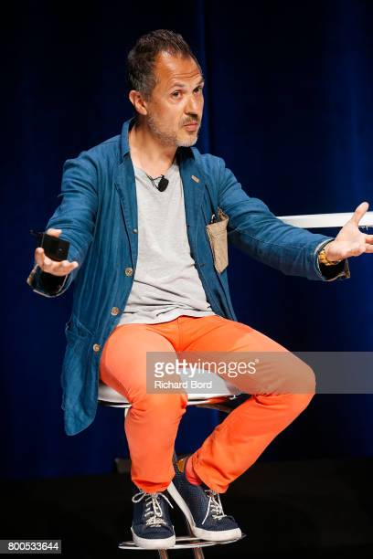 AwardWinning Photographer Platon speaks during the Cannes Lions Festival 2017 on June 24 2017 in Cannes France