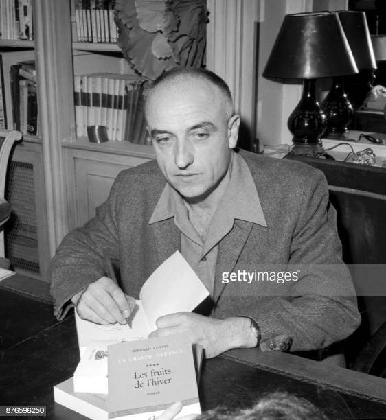 Awardwinning popular French novelist Bernard Clavel signs autographs on November 18 1968 The autodidact who began his working life as a baker died on...