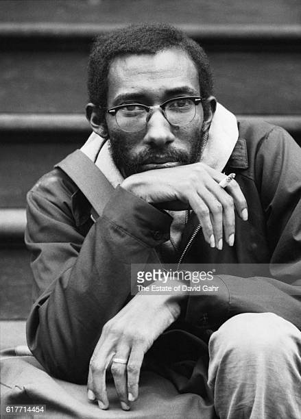 Awardwinning writer distinguished academic and teacher photographer and musician Julius Lester poses for a portrait in October 1969 in New York City...