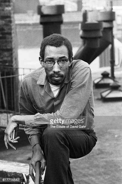Awardwinning writer distinguished academic and teacher photographer and musician Julius Lester poses for a portrait in May 1965 in New York City New...