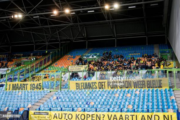 away fans during the Dutch Eredivisie match between Vitesse Arnhem and VVV Venlo at Gelredome on September 17 2017 in Arnhem The Netherlands
