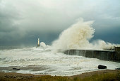 Awesome power of the sea