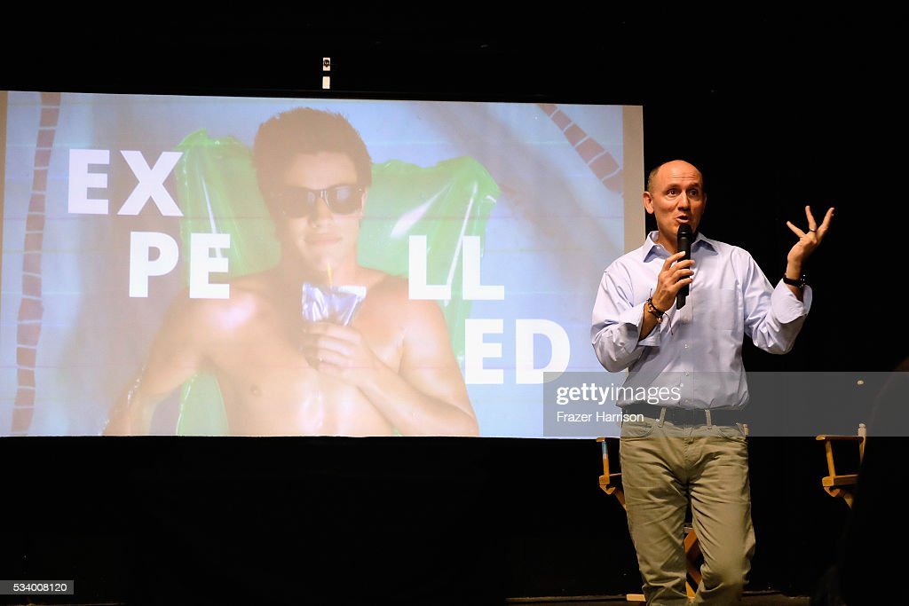 CMO, AwesomenessTV T.J. Marchetti speaks at the Fast Company's Creativity Counter-Conference at the AwesomenessTV offices as part of the Santa Monica Fast Track. on May 24, 2016 in Los Angeles, California.